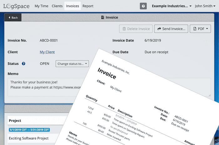 Invoicing is now live!