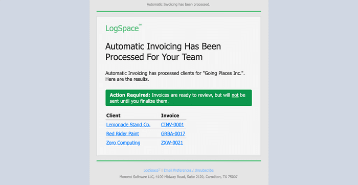 Automate Invoicing Tasks With Automatic Invoicing